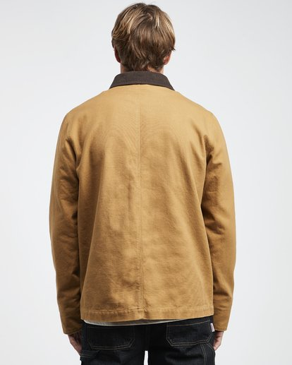 8 97 Ranch - Jacket for Men Brown Q1JK21BIF9 Billabong