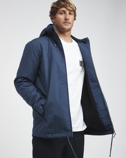 4 Alves - Jacket for Men Blue Q1JK26BIF9 Billabong