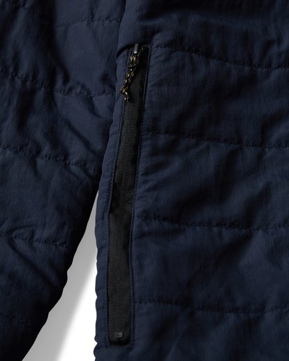 6 Journey Puff - Journey Puff Jacket for Men Blue Q1JK29BIF9 Billabong