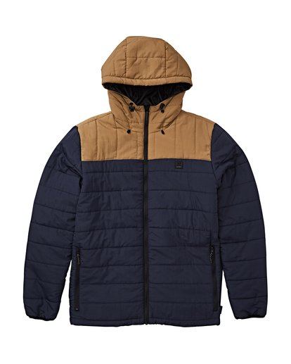 2 Journey Puff - Journey Puff Jacket for Men Blue Q1JK29BIF9 Billabong
