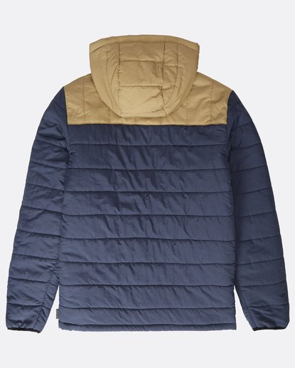 1 Journey Puff - Journey Puff Jacket for Men Blue Q1JK29BIF9 Billabong
