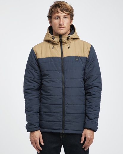 7 Journey Puff - Journey Puff Jacket for Men Blue Q1JK29BIF9 Billabong