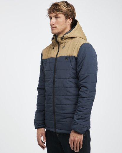 9 Journey Puff - Journey Puff Jacket for Men Blue Q1JK29BIF9 Billabong