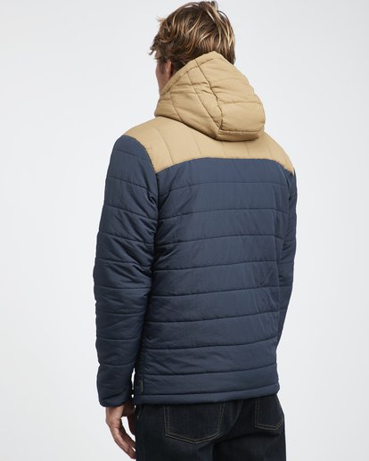 10 Journey Puff - Journey Puff Jacket for Men Blue Q1JK29BIF9 Billabong