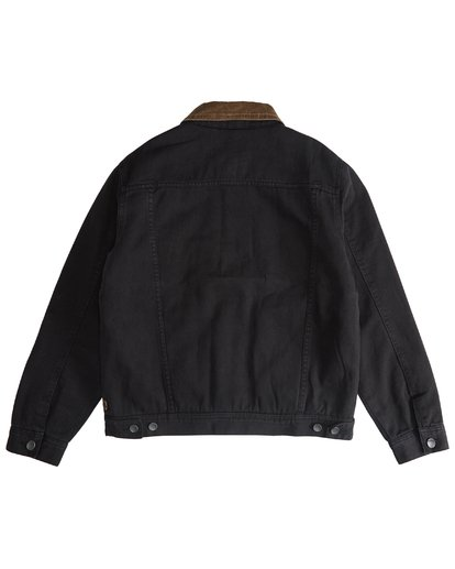7 Barlow - Trucker Jacket for Men Black Q1JK30BIF9 Billabong