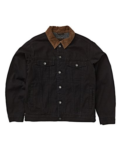 6 Barlow - Trucker Jacket for Men Black Q1JK30BIF9 Billabong