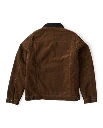 6 Barlow - Trucker Jacke für Männer Braun Q1JK30BIF9 Billabong