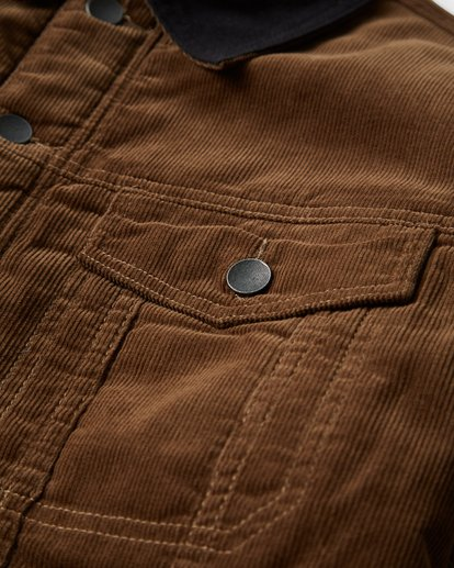 8 Barlow - Trucker Jacke für Männer Braun Q1JK30BIF9 Billabong