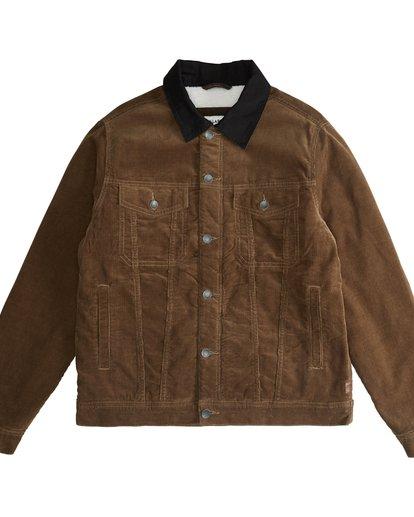 5 Barlow - Trucker Jacket for Men Brown Q1JK30BIF9 Billabong