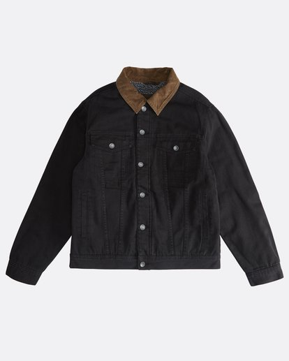 0 Barlow - Trucker Jacket for Men Black Q1JK30BIF9 Billabong
