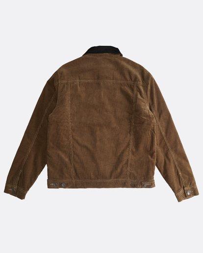 1 Barlow - Trucker Jacket for Men Brown Q1JK30BIF9 Billabong