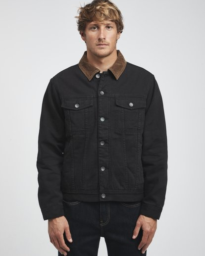 8 Barlow - Trucker Jacket for Men Black Q1JK30BIF9 Billabong