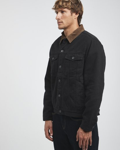 9 Barlow - Trucker Jacket for Men Black Q1JK30BIF9 Billabong