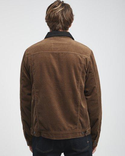 13 Barlow - Trucker Jacke für Männer Braun Q1JK30BIF9 Billabong