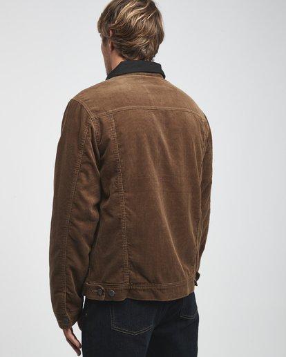 14 Barlow - Trucker Jacke für Männer Braun Q1JK30BIF9 Billabong