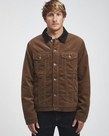 11 Barlow - Trucker Jacke für Männer Braun Q1JK30BIF9 Billabong