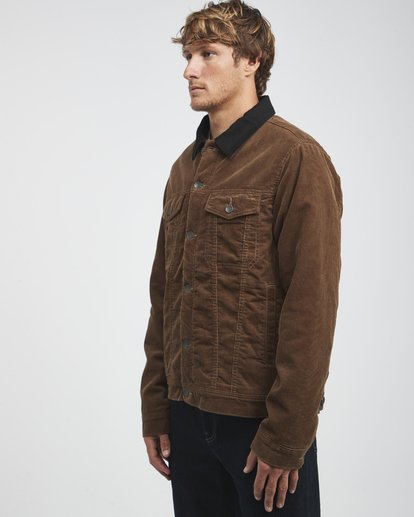 12 Barlow - Trucker Jacke für Männer Braun Q1JK30BIF9 Billabong