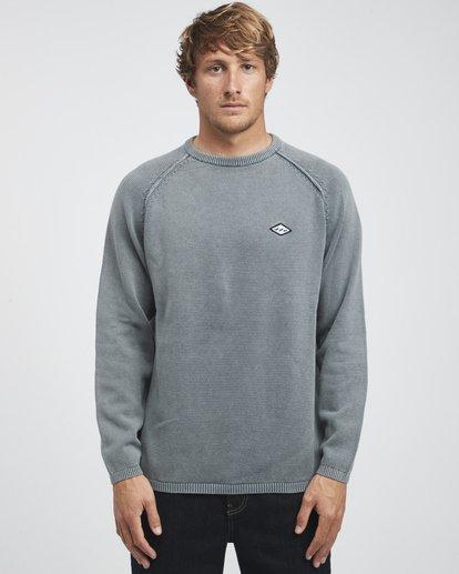 4 Wave Washed - Sweatshirt für Männer Grau Q1JP02BIF9 Billabong