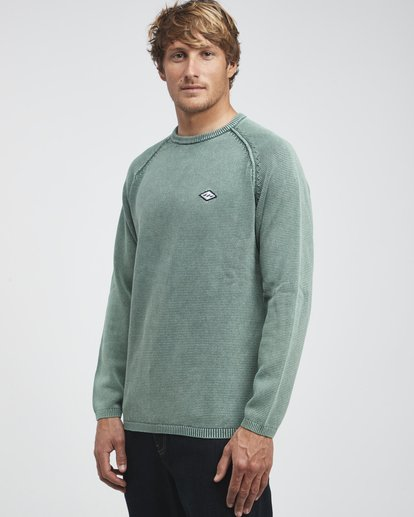 2 Wave Washed - Sweatshirt für Männer Gemustert Q1JP02BIF9 Billabong