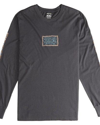 2 Heritage - Langärmeliges T-Shirt für Männer Schwarz Q1LS02BIF9 Billabong