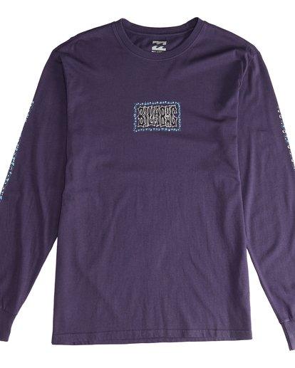 2 Heritage - Camiseta de Manga Larga para Hombre Violeta Q1LS02BIF9 Billabong