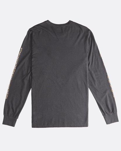 1 Heritage - Camiseta de Manga Larga para Hombre Negro Q1LS02BIF9 Billabong