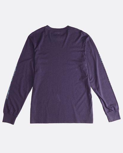 1 Heritage - Camiseta de Manga Larga para Hombre Violeta Q1LS02BIF9 Billabong