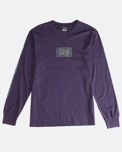 0 Heritage - Camiseta de Manga Larga para Hombre Violeta Q1LS02BIF9 Billabong