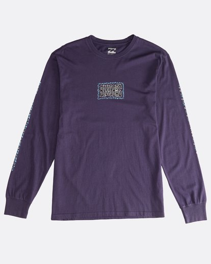 0 Heritage - Long Sleeves Tee for Men Purple Q1LS02BIF9 Billabong