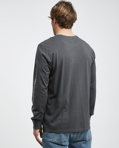 7 Heritage - Langärmeliges T-Shirt für Männer Schwarz Q1LS02BIF9 Billabong