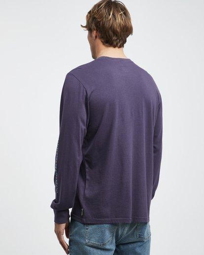 7 Heritage - Camiseta de Manga Larga para Hombre Violeta Q1LS02BIF9 Billabong