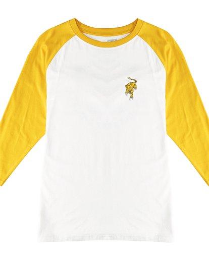 2 Bengal - Langärmeliges T-Shirt für Männer Gelb Q1LS04BIF9 Billabong