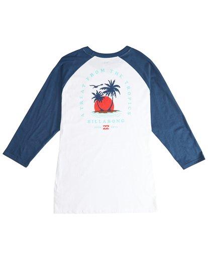 3 Bengal - Langärmeliges T-Shirt für Männer Blau Q1LS04BIF9 Billabong