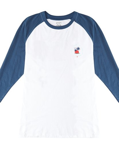 2 Bengal - Langärmeliges T-Shirt für Männer Blau Q1LS04BIF9 Billabong