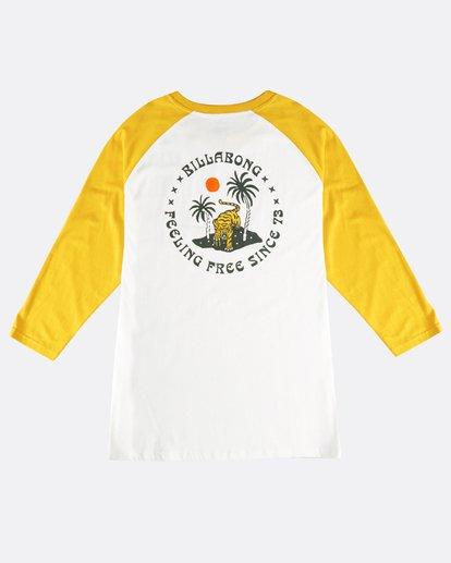 1 Bengal - Langärmeliges T-Shirt für Männer Gelb Q1LS04BIF9 Billabong