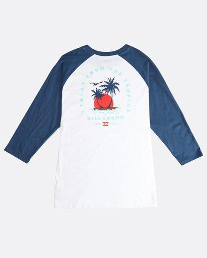 1 Bengal - Langärmeliges T-Shirt für Männer Blau Q1LS04BIF9 Billabong