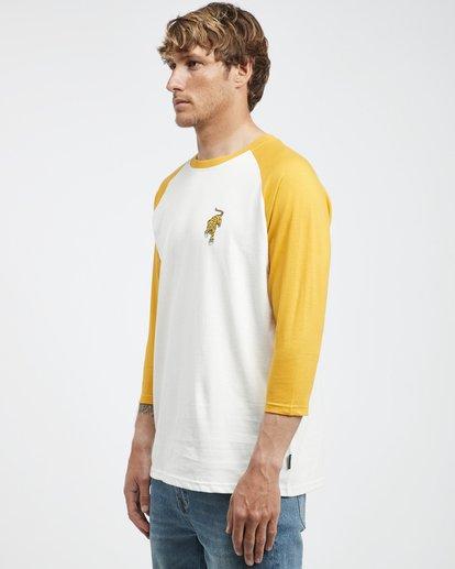 6 Bengal - Langärmeliges T-Shirt für Männer Gelb Q1LS04BIF9 Billabong