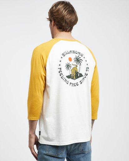 7 Bengal - Langärmeliges T-Shirt für Männer Gelb Q1LS04BIF9 Billabong