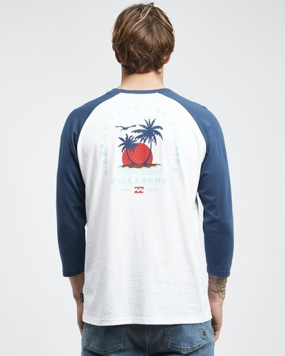 5 Bengal - Langärmeliges T-Shirt für Männer Blau Q1LS04BIF9 Billabong