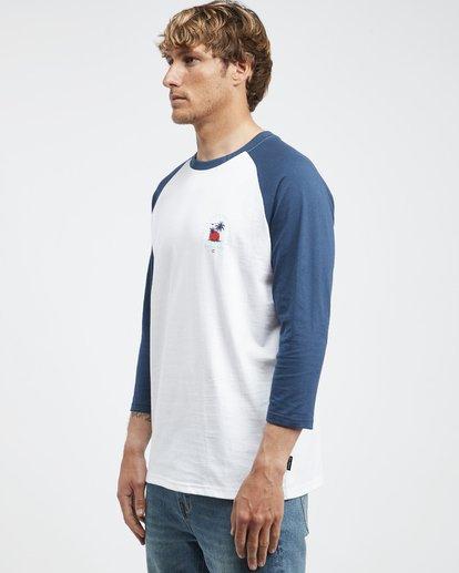 6 Bengal - Langärmeliges T-Shirt für Männer Blau Q1LS04BIF9 Billabong