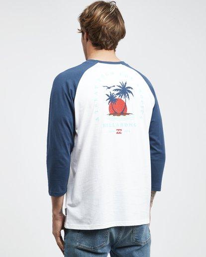 7 Bengal - Langärmeliges T-Shirt für Männer Blau Q1LS04BIF9 Billabong