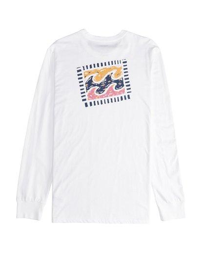 3 Iconic - Langärmeliges T-Shirt für Männer Weiss Q1LS08BIF9 Billabong