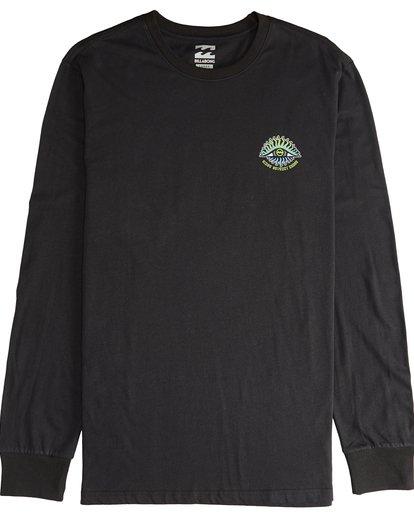 2 Iconic - Langärmeliges T-Shirt für Männer Schwarz Q1LS08BIF9 Billabong