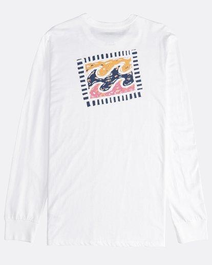 1 Iconic - Langärmeliges T-Shirt für Männer Weiss Q1LS08BIF9 Billabong