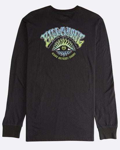 1 Iconic - Langärmeliges T-Shirt für Männer Schwarz Q1LS08BIF9 Billabong