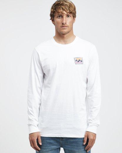 4 Iconic - Langärmeliges T-Shirt für Männer Weiss Q1LS08BIF9 Billabong