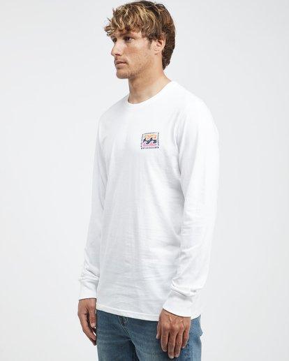 6 Iconic - Langärmeliges T-Shirt für Männer Weiss Q1LS08BIF9 Billabong