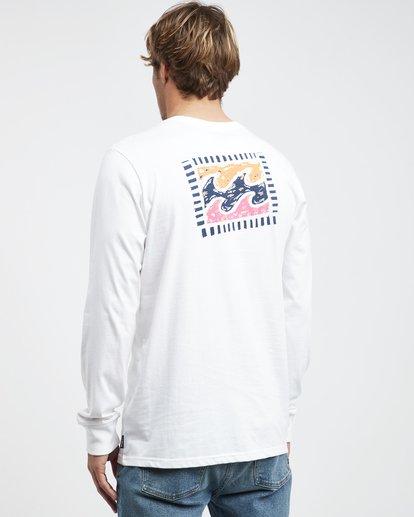 7 Iconic - Langärmeliges T-Shirt für Männer Weiss Q1LS08BIF9 Billabong