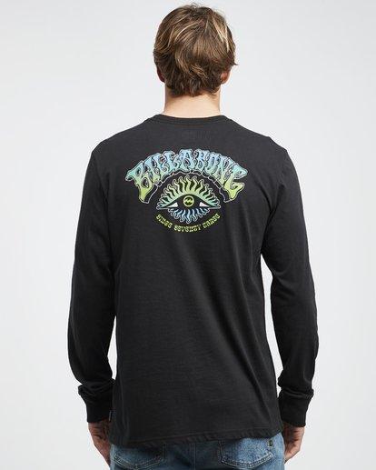 5 Iconic - Langärmeliges T-Shirt für Männer Schwarz Q1LS08BIF9 Billabong