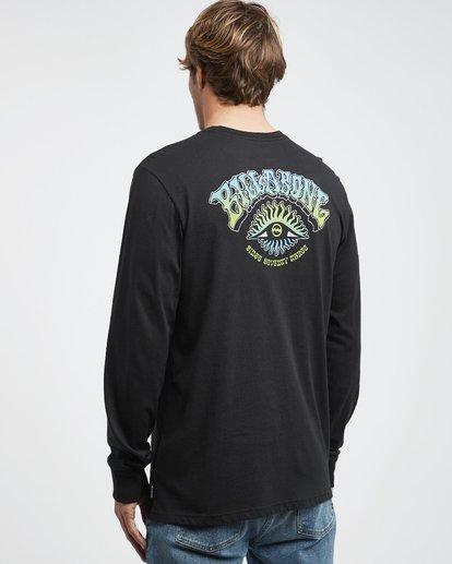7 Iconic - Langärmeliges T-Shirt für Männer Schwarz Q1LS08BIF9 Billabong